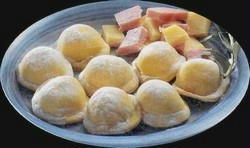 Sorrentinos super rápidos rellenos de vegetales, jamón y queso