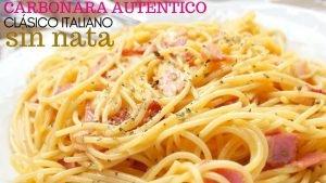 Espaguetis como un italiano
