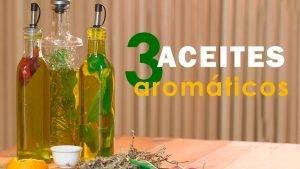 Aceites aromáticos caseros